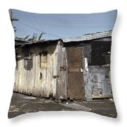 Migrant Workers, 1941 Throw Pillow