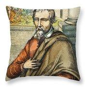 Miguel Serveto (1511-1553) Throw Pillow