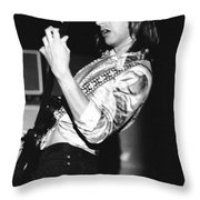 Mike Somerville 21 Throw Pillow
