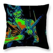 Mike Somerville Art 3 Throw Pillow