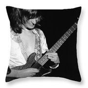 Mike Somerville Of Head East 12 Throw Pillow