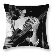 Mike Somerville Of Head East 14 Throw Pillow