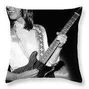 Mike Somerville Of Head East 16 Throw Pillow