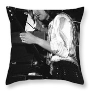 Mike Somerville Of Head East 17 Throw Pillow