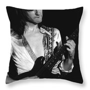 Mike Somerville Of Head East 18 Throw Pillow