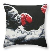 Mike Tyson 6 Throw Pillow