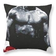 Mike Tyson 8 Throw Pillow