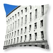 Milan Courthouse Building Throw Pillow