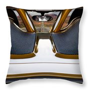 Mile Marker 13 Throw Pillow