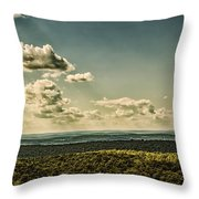 Mile's Between Us. Throw Pillow by Rob Dietrich