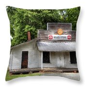 Miles Country Store Throw Pillow