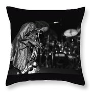 Miles Davis 1 Throw Pillow
