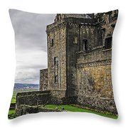 Military Fortress Throw Pillow