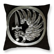 Military - French Foreign Legion Insignia Throw Pillow