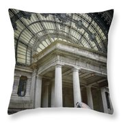 Military Might Throw Pillow