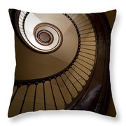 Milk And Chocolate Staircase Throw Pillow