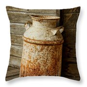 Milkcan Throw Pillow
