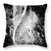 Milkweed #14 Throw Pillow