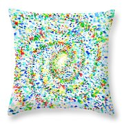 Milky Way Galaxy - Watercolor Painting Throw Pillow