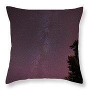 Milky Way In Nj Throw Pillow