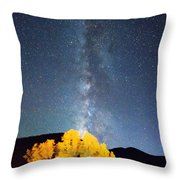 Milky Way October Sky Throw Pillow by James BO  Insogna