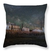 Milky Way Over Standard Mill Throw Pillow