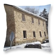 Mill Cooperage Throw Pillow