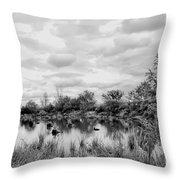 Mill Creek Marsh Serenity Throw Pillow