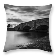 Mill Gut Bridge Throw Pillow