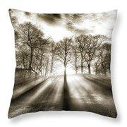Mill Of Sun Throw Pillow