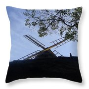 Mill - Silhouette Throw Pillow
