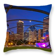 Millennium Park Pritzker Pavilion Throw Pillow