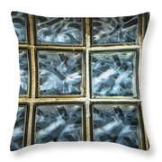 Miller Factory Window Panes Throw Pillow