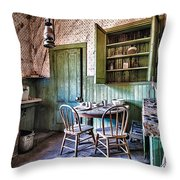 Miller House Kitchen Throw Pillow