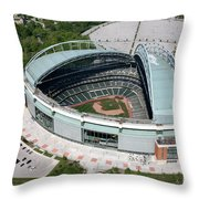 Miller Park Milwaukee Wisconsin Throw Pillow