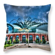 Miller Park  Throw Pillow