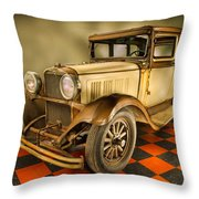 Millers Chop Shop 1929 Dodge Victory Six Before Throw Pillow