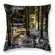 Millhouse In The Moonlight Throw Pillow