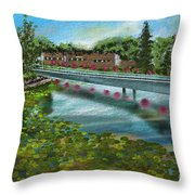 Millpond Throw Pillow