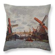 Mills At Westzijderveld Throw Pillow