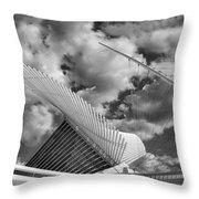 Milwaukee Art Center 2 Throw Pillow