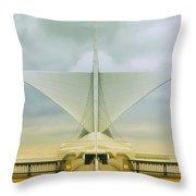 Milwaukee Art Center Throw Pillow
