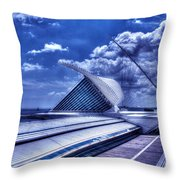Milwaukee Art Museum 1 Throw Pillow
