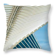 Milwaukee Art Museum Throw Pillow