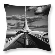 Milwaukee Art Museum - Wisconsin Throw Pillow