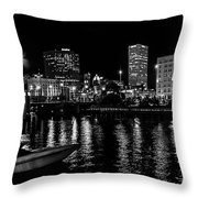 Milwaukee Downtown Third Ward Throw Pillow