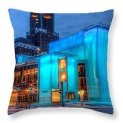 Milwaukee Pac Evening Glow Throw Pillow