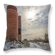 Milwaukee - Solvay Coke And Gas Company  18 Throw Pillow