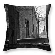 Milwaukee - Solvay Coke And Gas Company  8  Throw Pillow