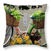 Milwaukee Summer  Throw Pillow